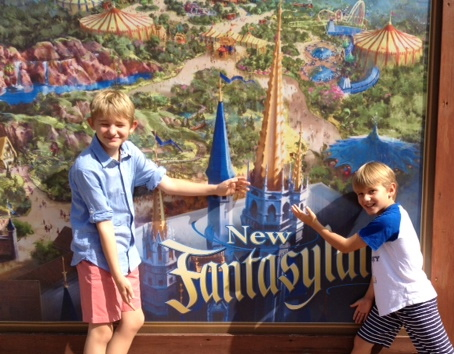 New Fantasyland DisneyWorld
