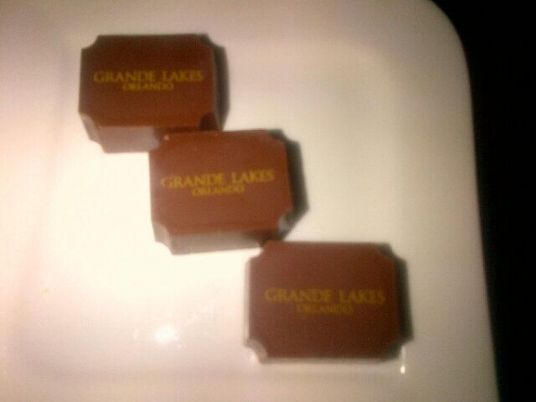 PB&J Truffles from Ritz Carlton Orlando