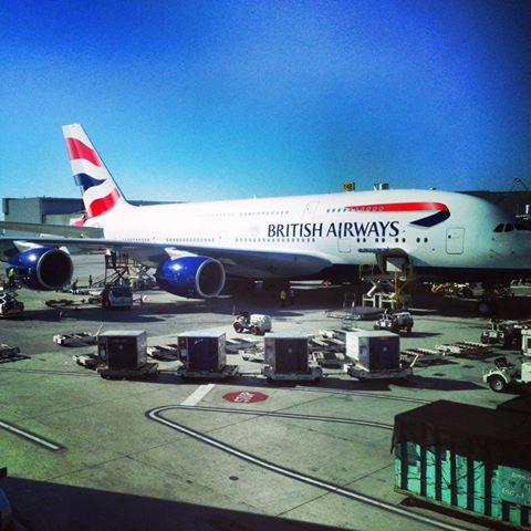 British Airways A380 Dreamliner