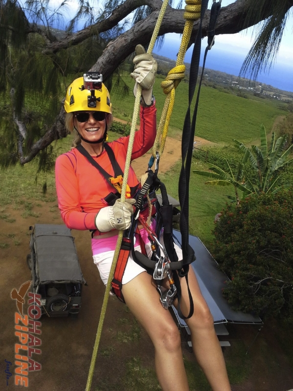 Zipline Hawaii Big Island Canopy tour